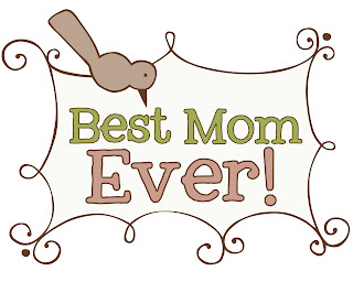 Best Mom Ever Print!! Put in a frame & you have a great gift for mom!