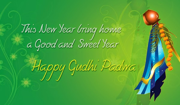 Happy Gudi Padwa Images, Pictures, Photos, Vectors, Graphics, Pics, Greeting Cards, FB Facebook Covers or Post Sharing, Google Plus Covers or Post, Pinterest Sharing