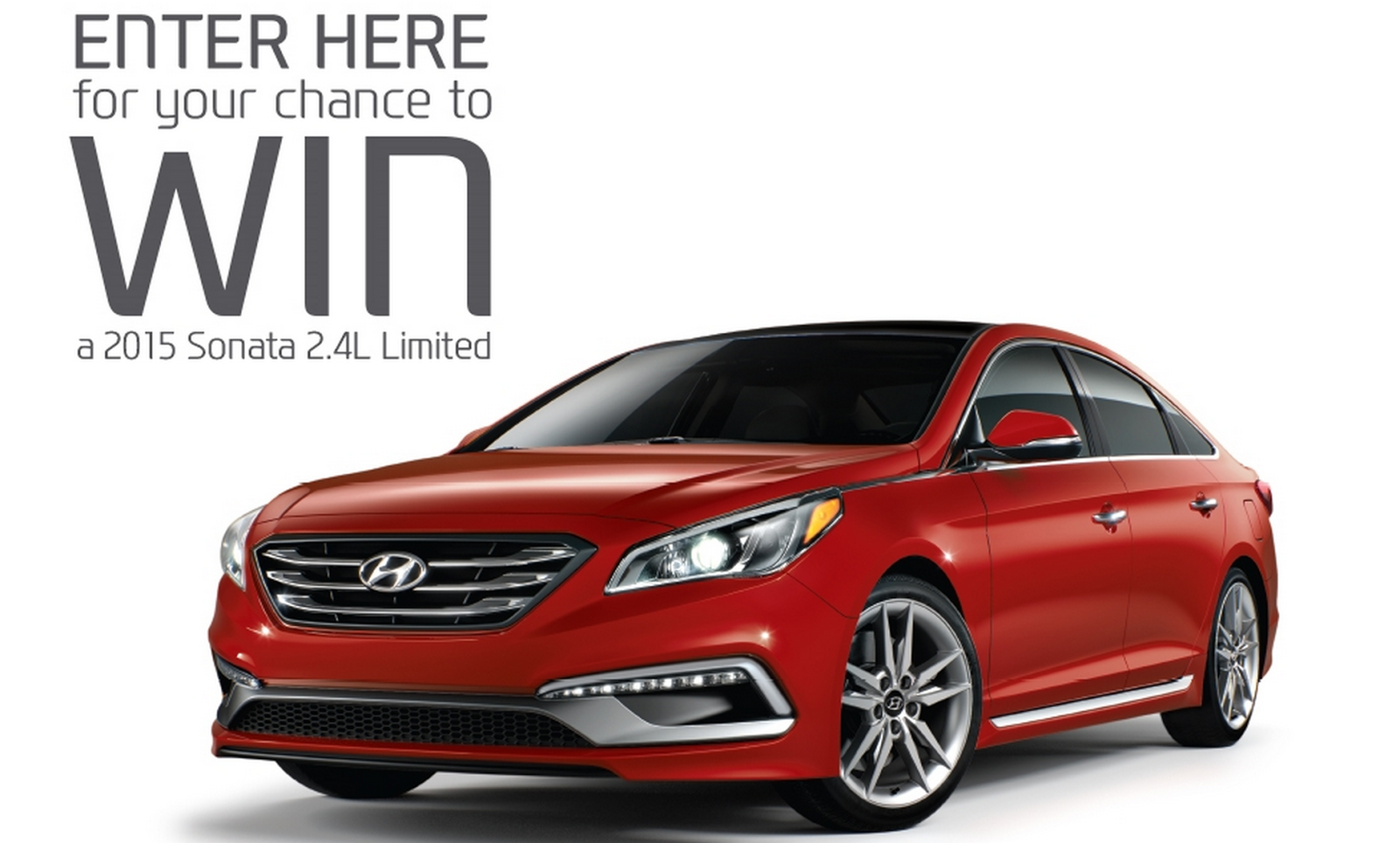 image Giveaway Enter to Win a 2015 Sonata 2XL