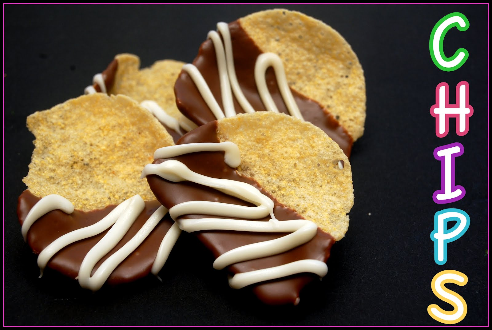CHOCOLATE DIPPED POTATO CHIPS - Hugs and Cookies XOXO