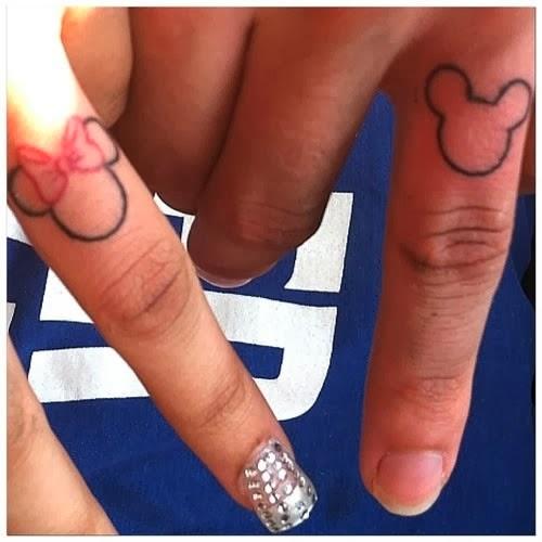 Tatuagem romanticas para casal