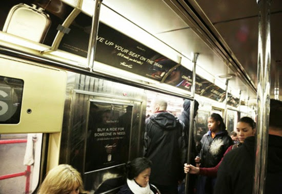 New York Subway Advertising