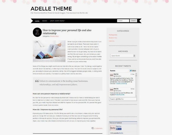 Adelle Theme
