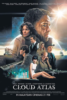 Cloud Atlas 2012 film movie poster large