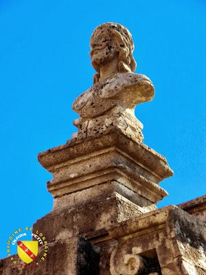 AUTIGNY-LA-TOUR (88) - Le château - Buste de Charles III de Lorraine