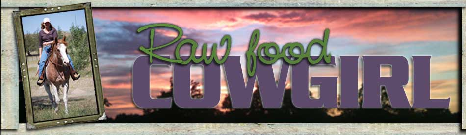 the raw food cowgirl
