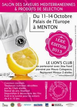 Hotel menton salon des saveurs mediterraneennes for Salon des saveurs