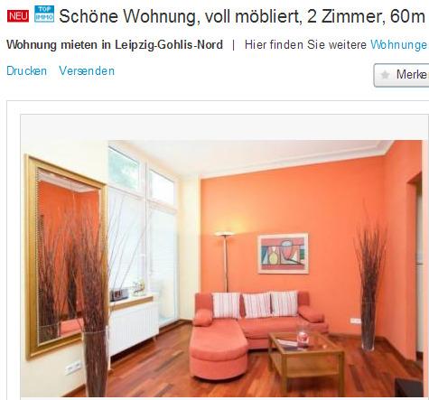 zu vermieten eine sch ne wohnung mit 2 zimmern gegen wohnungsbetrug against rental scammers. Black Bedroom Furniture Sets. Home Design Ideas