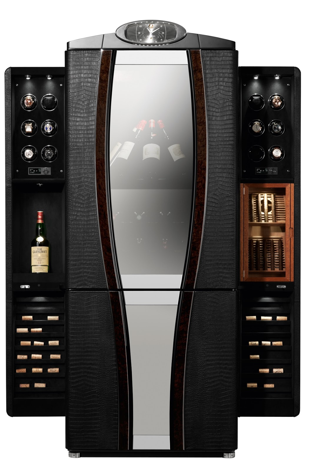 The Most Luxurious Safes in the World BUBEN ZORWEG Grand Aficionado   front open