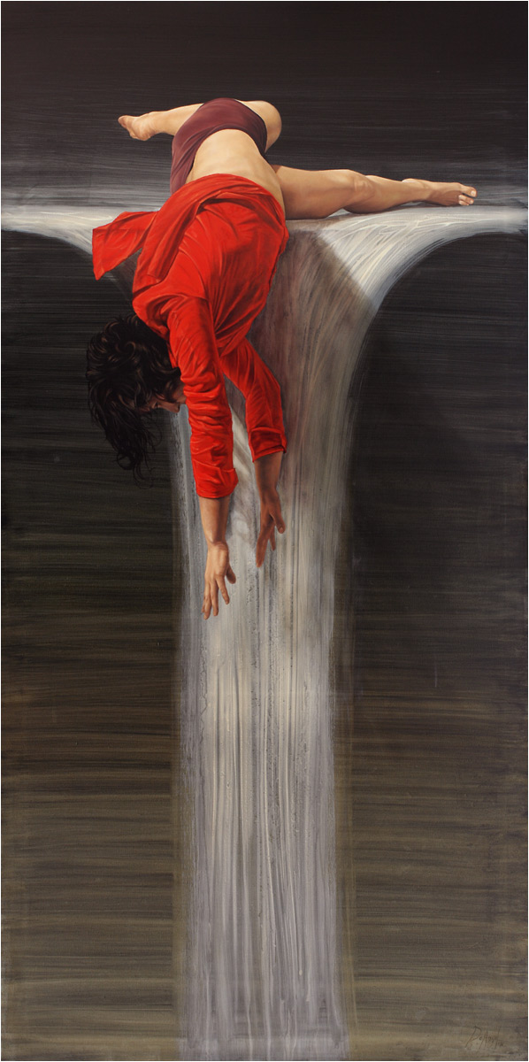 DeAngel 1966 | Spanish Hyperrealist Figurative painter