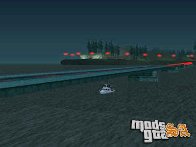 Pista Drag Bridge para GTA San Andreas