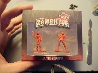 Zombicide, Kickstarter, unboxing, Season ii, Dogs, Zombie, LEa