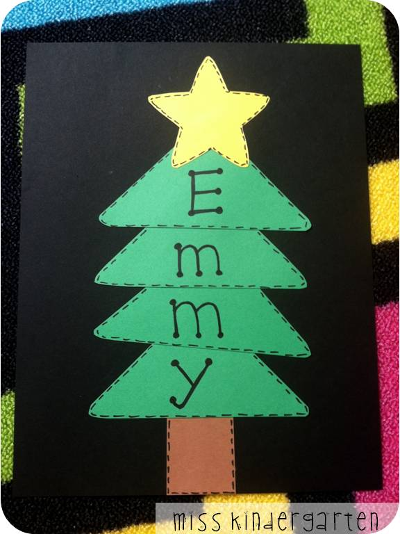Magnificent Name Christmas Tree Craft 576 x 768 · 51 kB · jpeg
