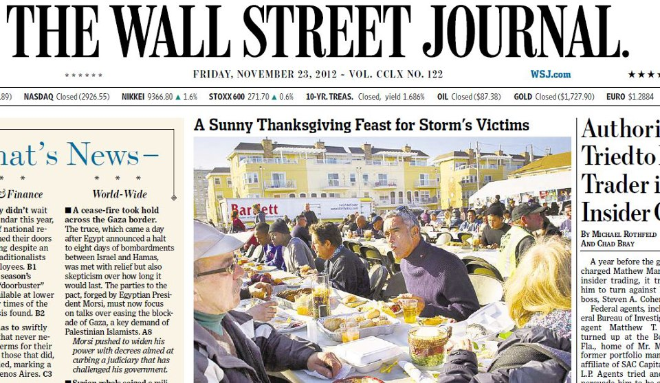 Crest Feature: The Wall Street Journal