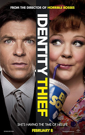 Poster Of Identity Thief In Dual Audio Hindi English 300MB Compressed Small Size Pc Movie Free Download Only At worldfree4u.com