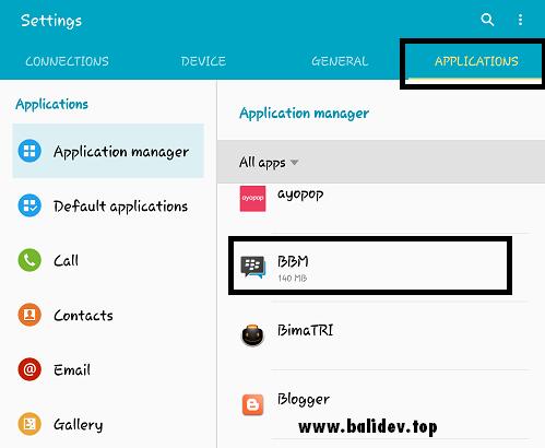 Cara Membatasi Penggunaan Data Seluler Pada Hp Samsung Galaxy Bali