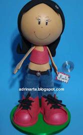 Menina de Jeans