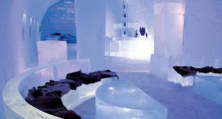 El hotel de hielo Ce Hotel de Canadá