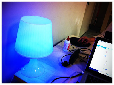 Open Hardware MoodLamp Based on LED