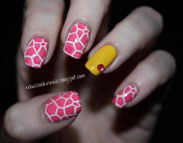 rebecca likes nails nicki minaj