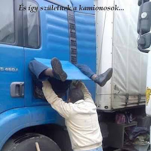 így születnek a kamionsofőrök