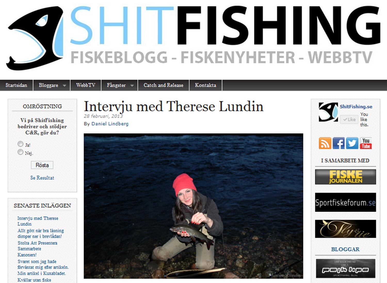 Therese Lundin - Intervju Shitfishing