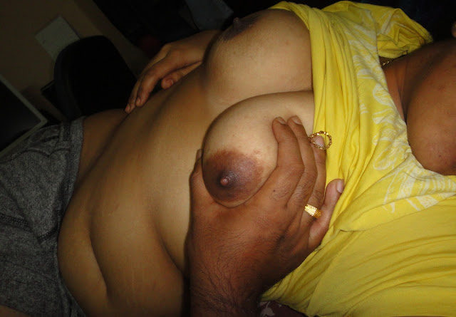 Sleeping Desi Wife Boobs Exposed By Her Hubby indianudesi.com
