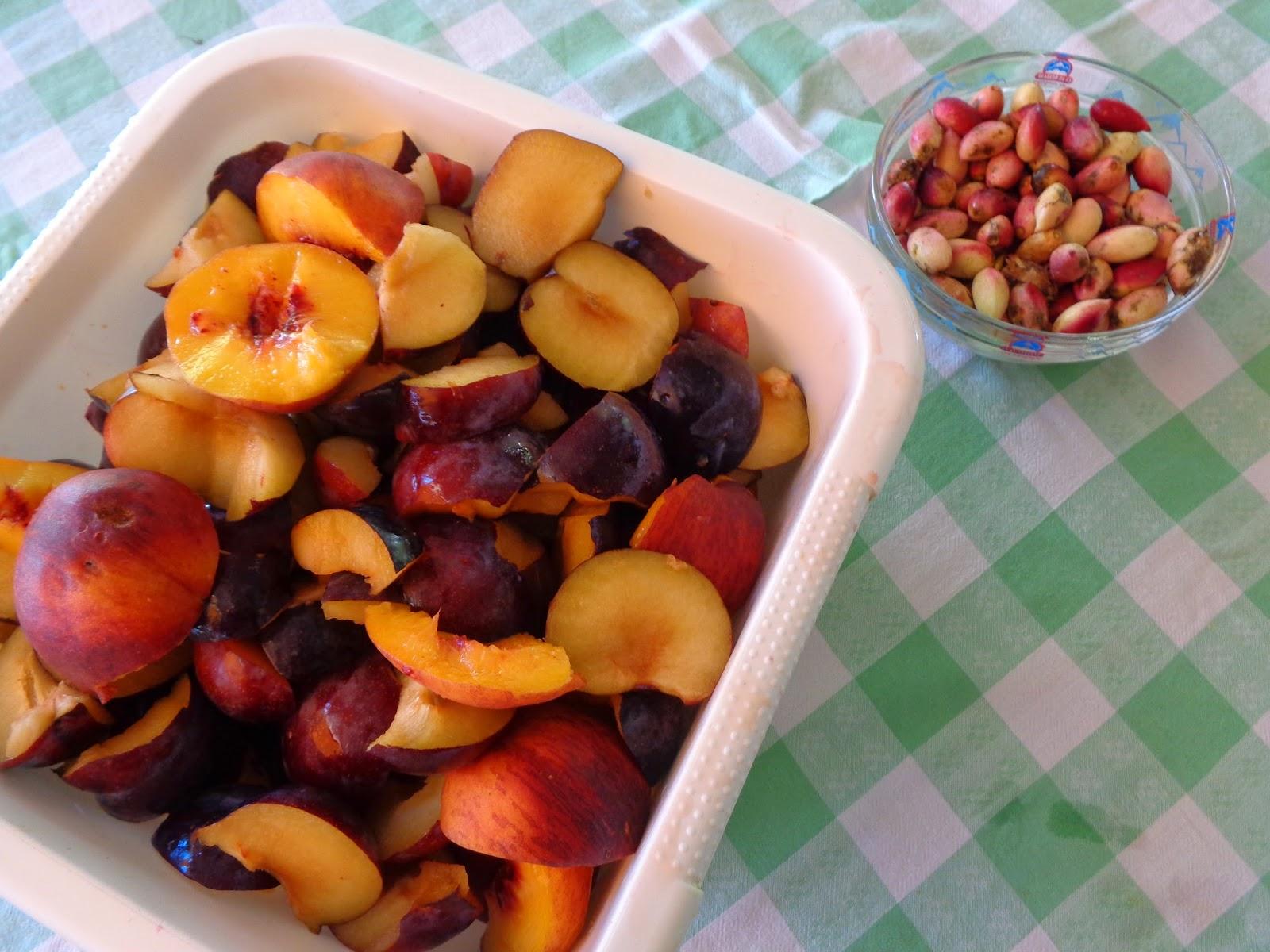 μαρμελάδα ροδάκινα με βανίλιες