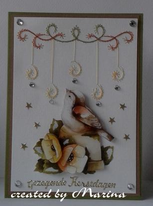 kerstkaarten met mallen gemaakt pinterest