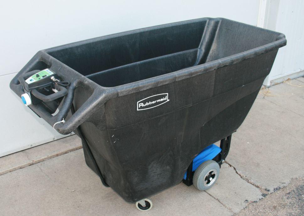 Phs West Inc E1000 Motorized Trash Carts