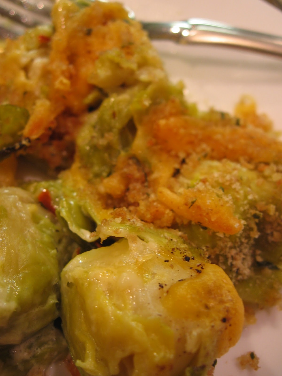 cookin' up north: Brussel Sprouts Gratin