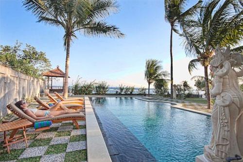 Hotel Genggong Candi Dasa Pool