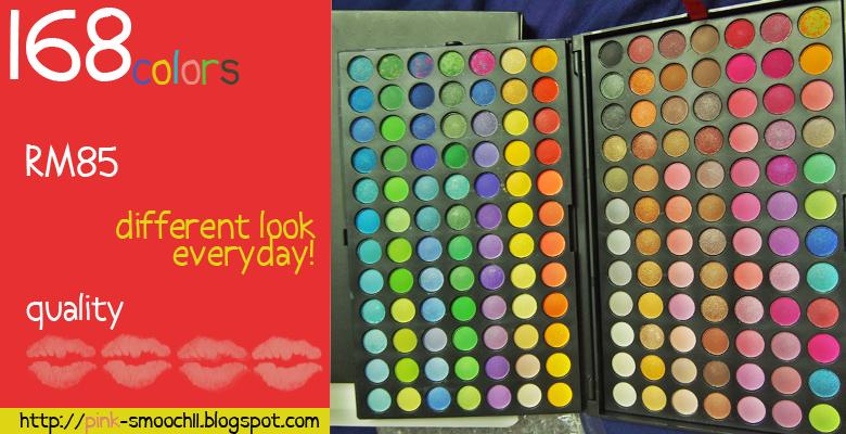 168 colors!