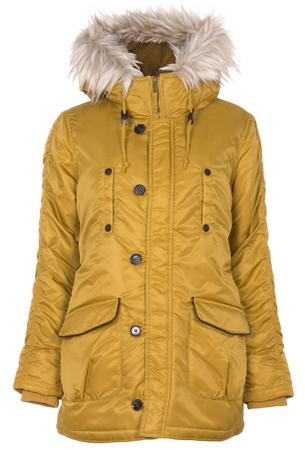 abrigo parka mostaza Primark