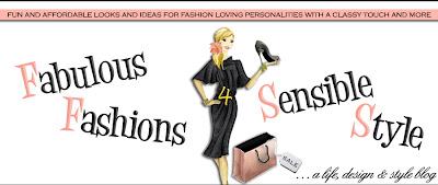 Fabulous Fashions 4 Sensible Style