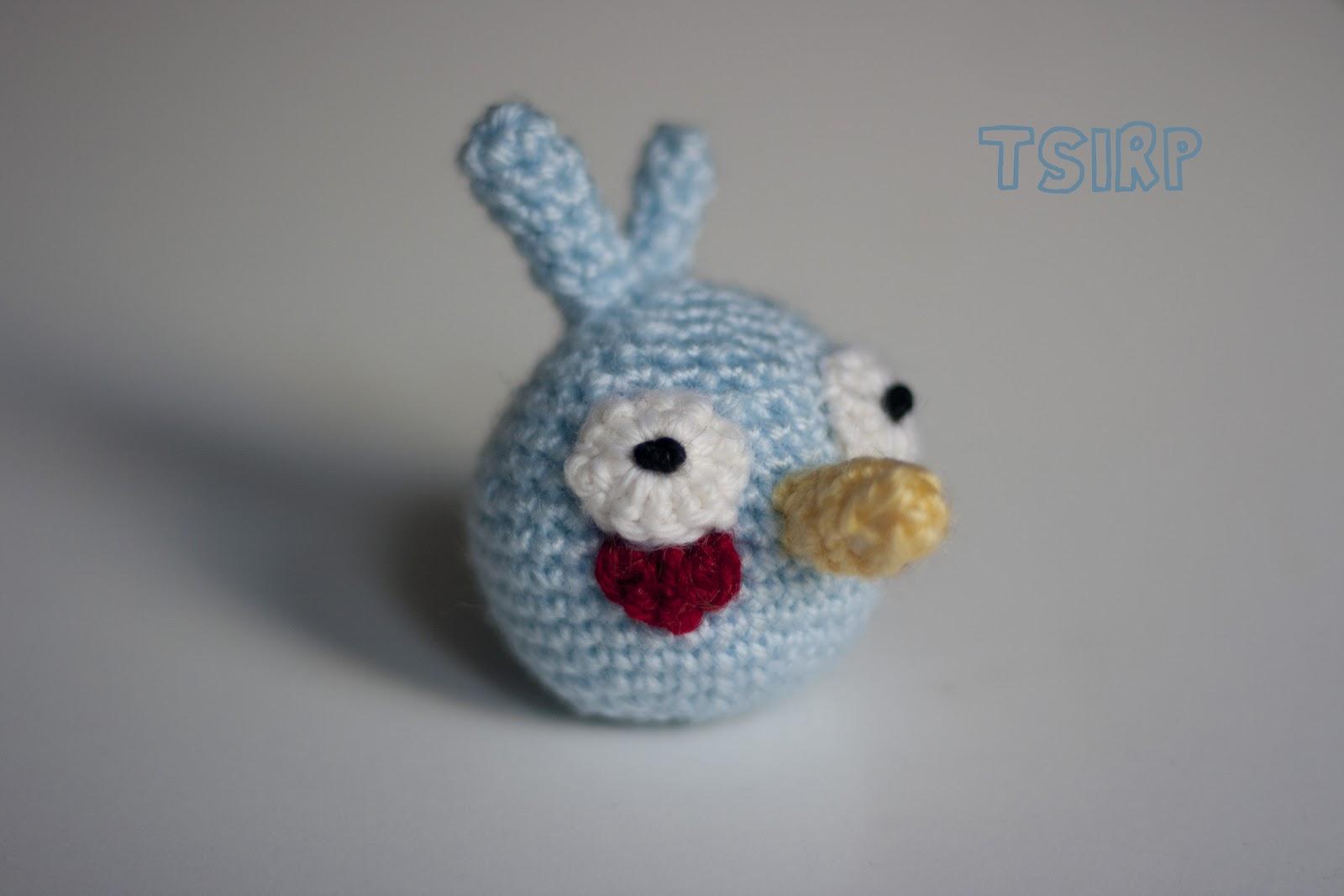 Blue Angry Bird Amigurumi Pattern : Oma ompelunurkkaus: Blue angry bird -amigurumi