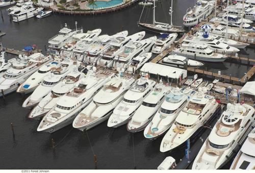 Yachts and boats at FLIBS 2012