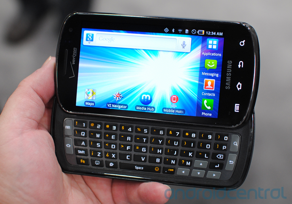 How To Charge Your Phone With A Battery >> Samsung Stratosphere Verizon Review - Samsung Stratosphere Verizon Review Blog