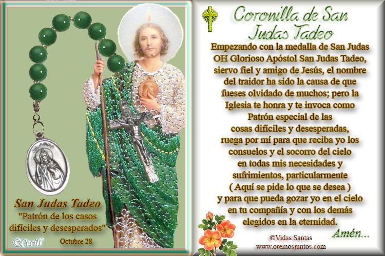 Coronilla de San Judas Tadeo