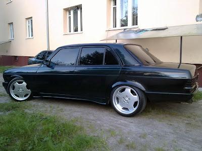 w123 custom