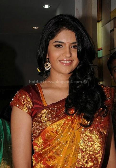 Deeksha seth latest saree pics