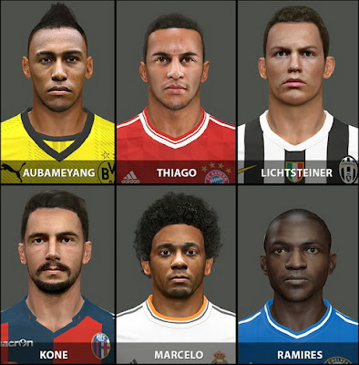 PES 2014 Facepack by ViERi