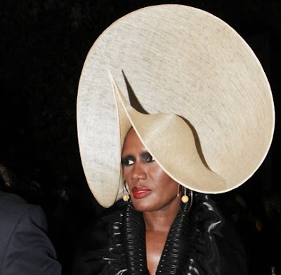 Most Outrageous Celebrity Hats Seen On www.coolpicturegallery.us