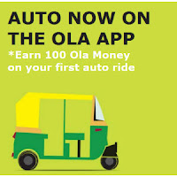 Olacabs : You can Travel anywhere at just Rs 25 only in Delhi NCR for the first 2 kms With this offer