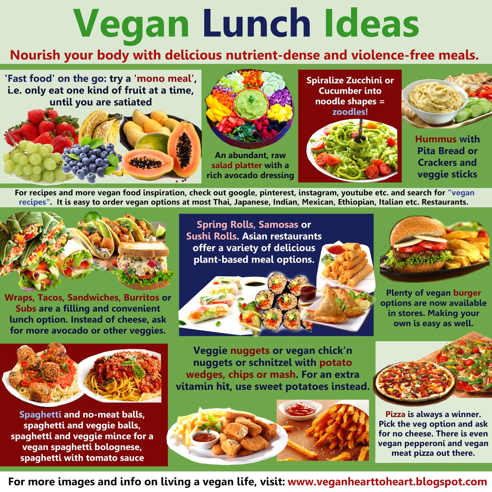 Vegan heart to heart vegan lunch ideas thursday september 24 2015 forumfinder Choice Image