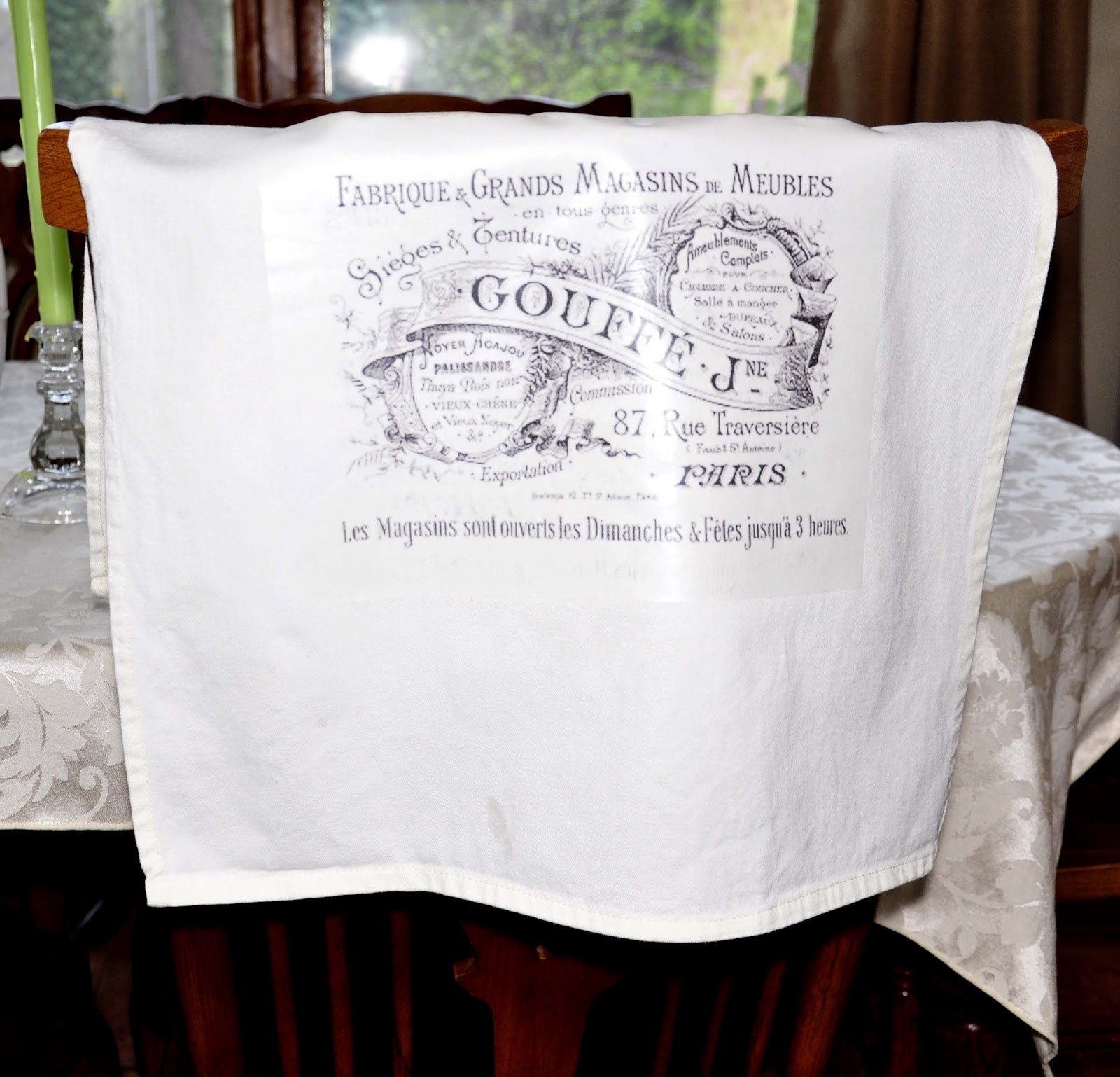 Tea Towel Kitchen Curtains: Butterbean Row: Tea Towels With Graphics