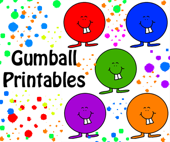 gumball print out