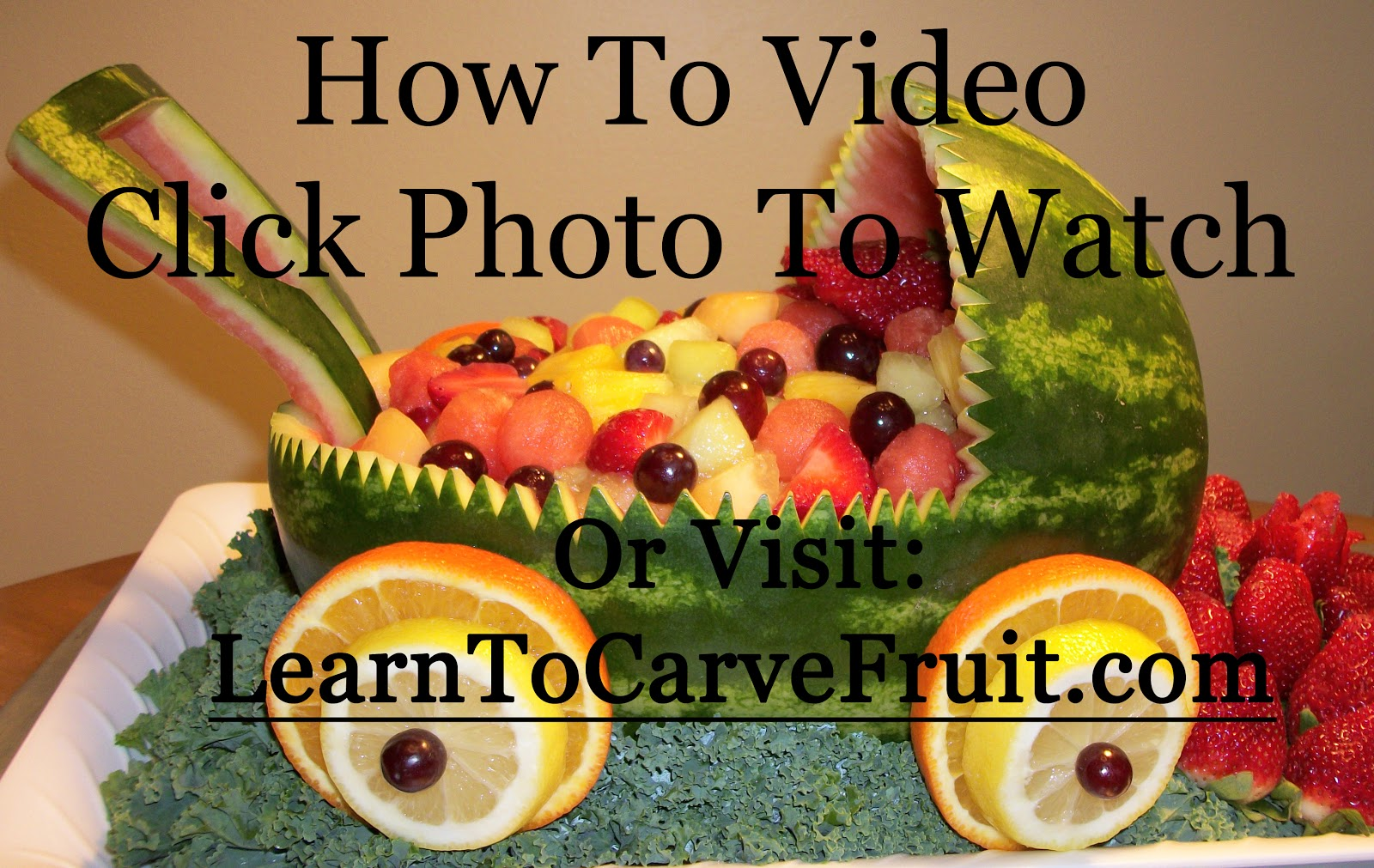 how to make fruit carving