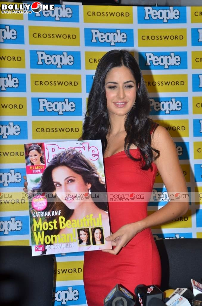 Red Hot Katrina Kaif at People magazine Most Beautiful women photo call
