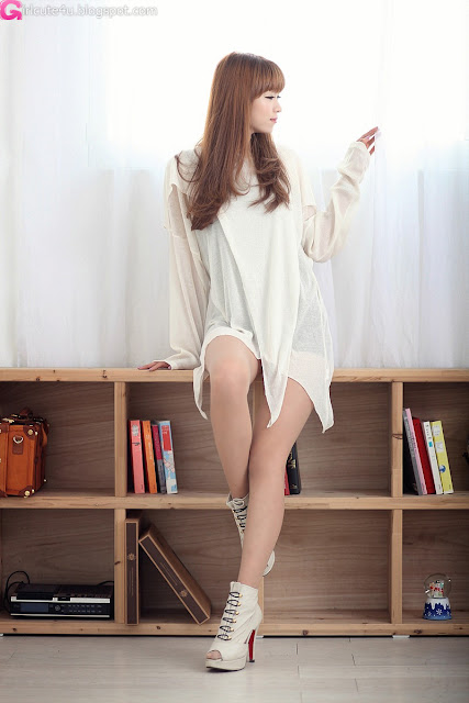 5 Lee Eun Hye - Sexy Sheer Top-very cute asian girl-girlcute4u.blogspot.com